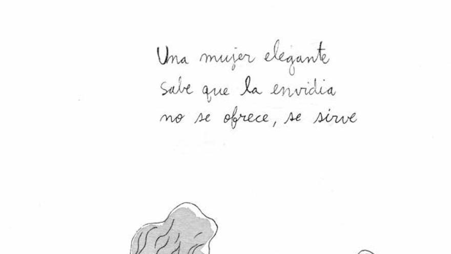 Ilustración de 'Mujeres elegantes', de Sol Díaz