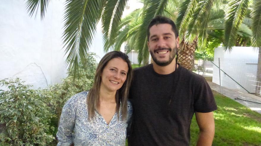 Vanesa Catalán y Gianny Herrera son los candidatos de IUC al Senado y al Congreso.