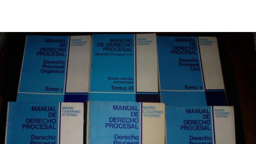 Manuales de Derecho Procesal