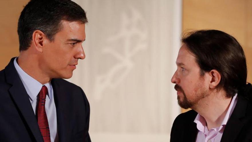 Sánchez e Iglesias acentúan sus ataques en el inicio del camino hacia el 10N