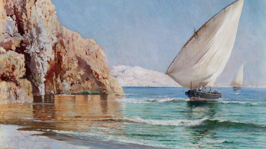 'La llegada de las barcas', de Ricardo Verdugo Landi