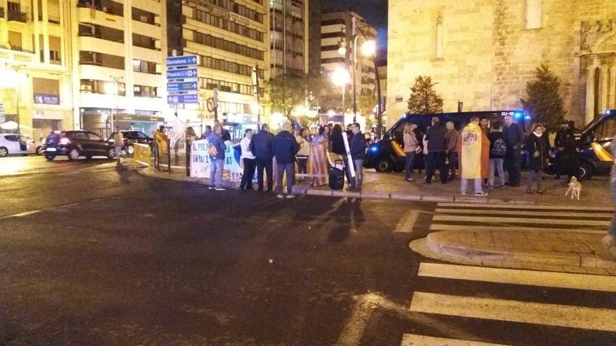 Manifestación de Avant, que ha sido apoyada por España 2000.