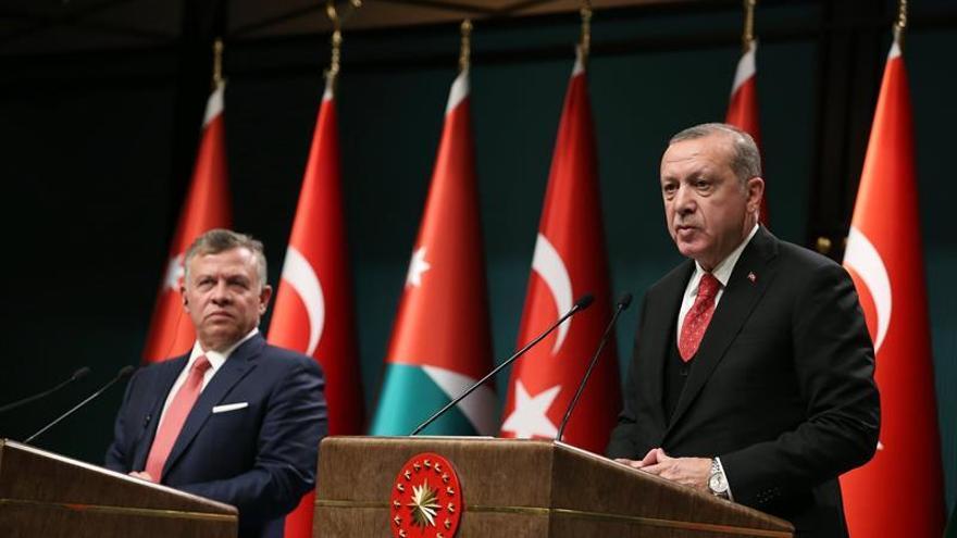 Erdogan: Trump lanza Oriente Medio al fuego al reconocer la capitalidad de Jerusalén