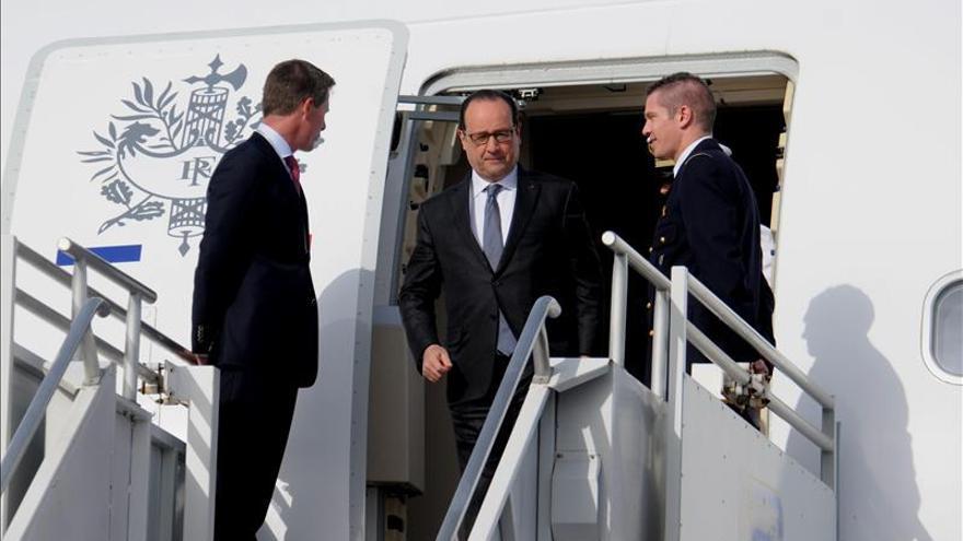 Hollande apela a la solidaridad para luchar contra el cambio climático