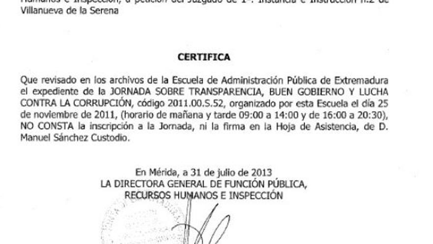 Navalvillar,certificado,Junta