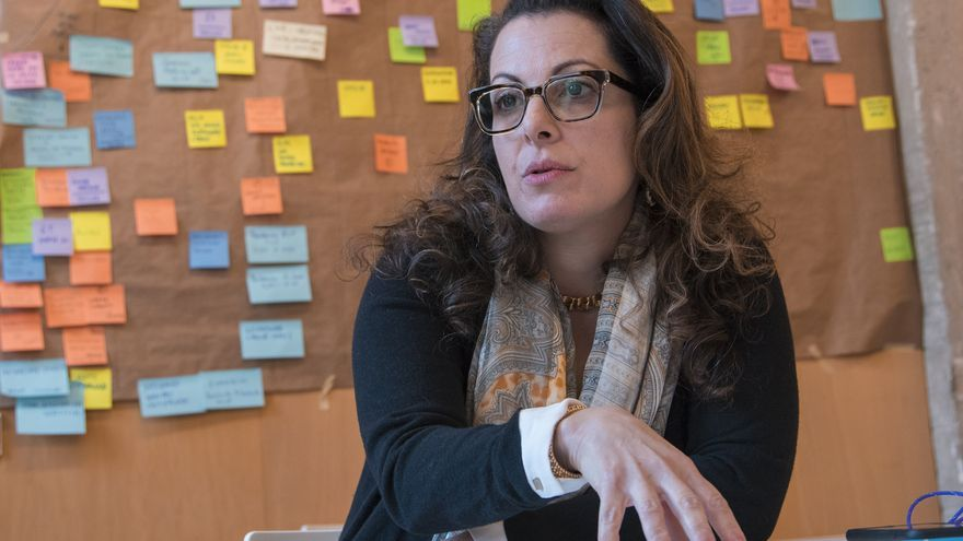 Beth Noveck, responsable del proyecto Open Government de la administración Obama. / David Conde