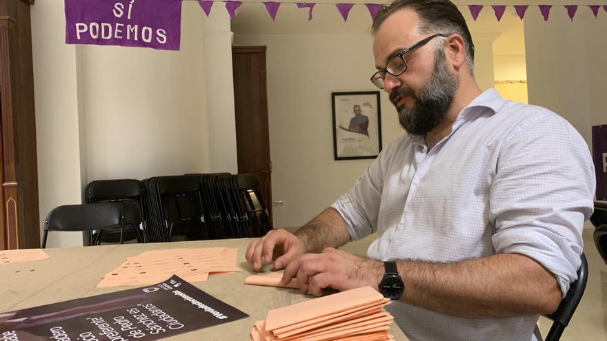 Jorge Peñas, candidato de Unidas Podemos al Senado por Lanzarote y La Graciosa