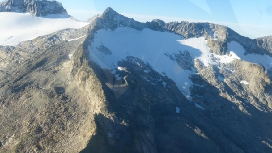 Glaciar de La Maladeta.