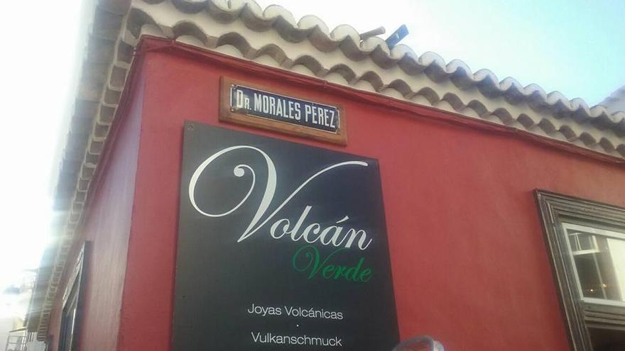 Calle de la Villa y Puerto de Tazacorte que lleva el nombre del Doctor Morales Pérez.