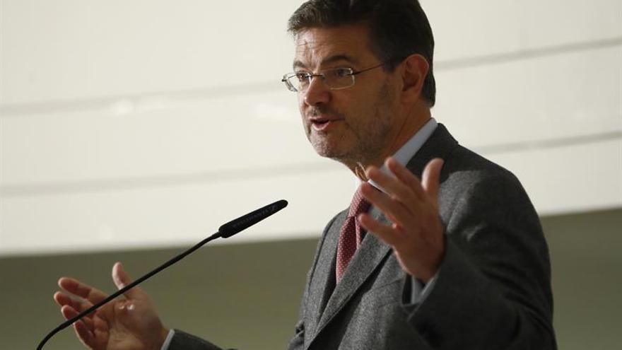 Catalá niega cualquier injerencia en la actuación del fiscal general Estado