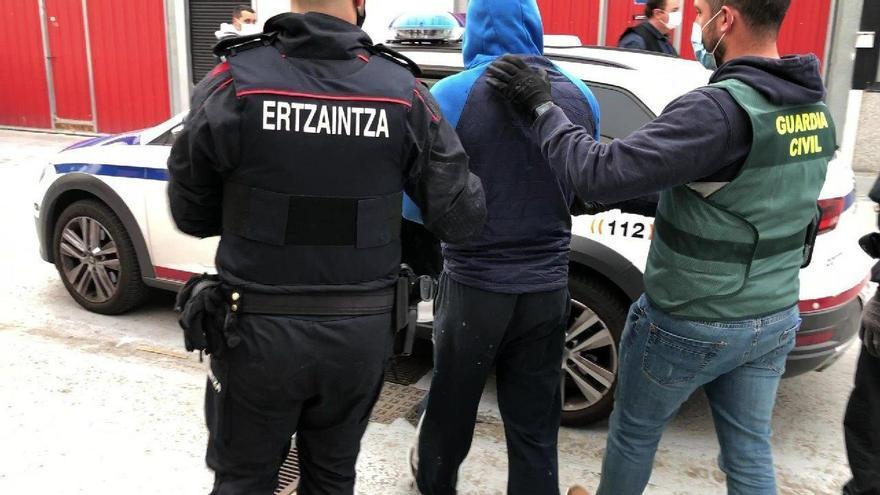 Operación antidroga conjunta entre Ertzaintza y Guardia Civil