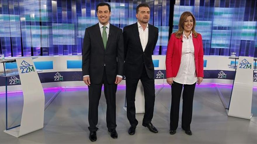 """Moreno y Díaz intercambian reproches por el paro, Maíllo lo ve """"pim pam pum"""""""