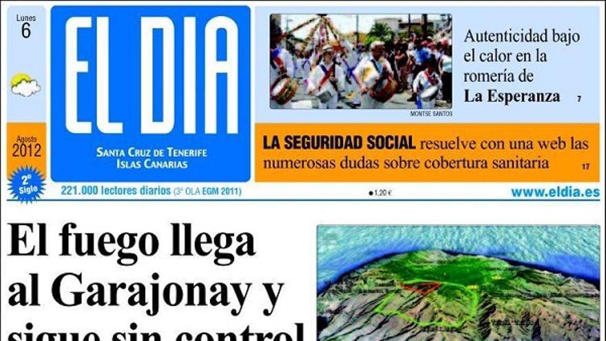 De las portadas del día (06/08/2012) #4