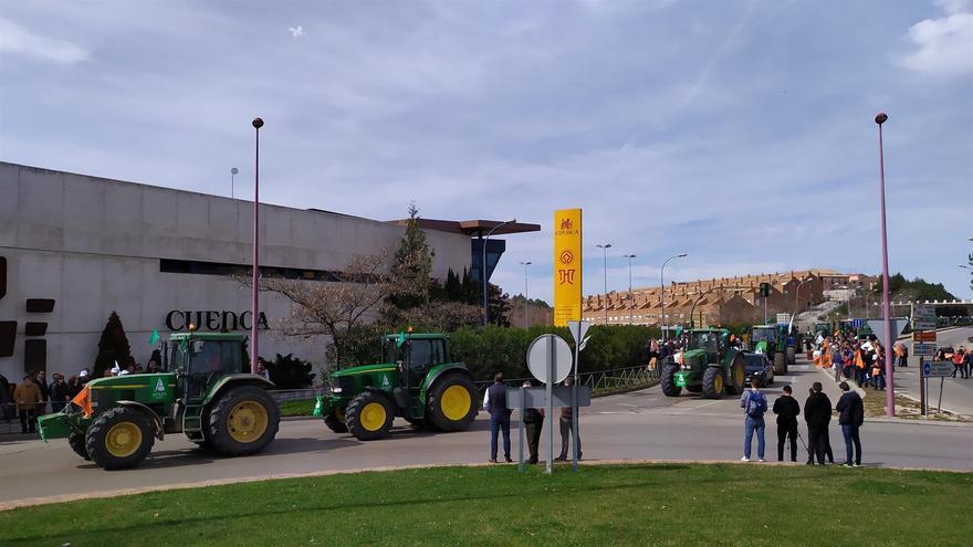 Manifestación en Cuenca