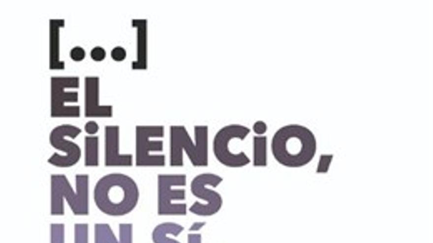 El cartel de la campaña contra las agresiones sexistas creado por el Ayuntamiento de Bilbao