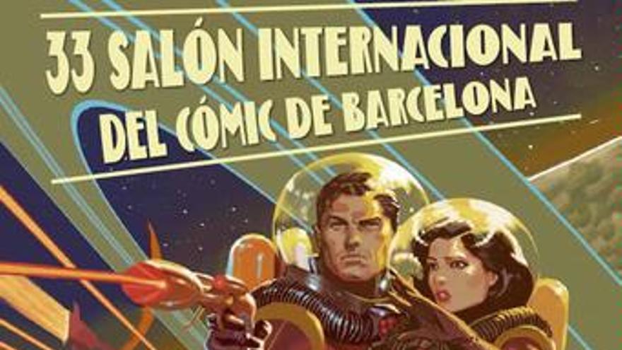 33 edición del Saló del còmic de Barcelona