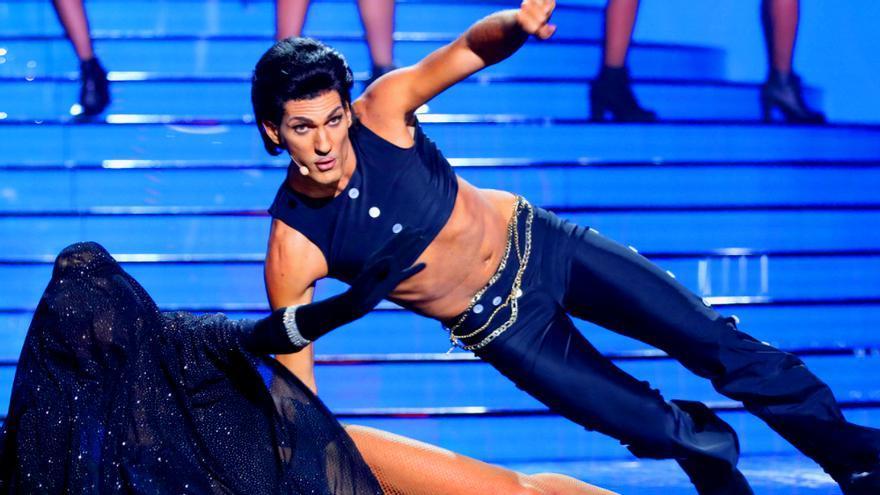 Fran Dieli, como Prince en la segunda gala de Tu cara me suena 6