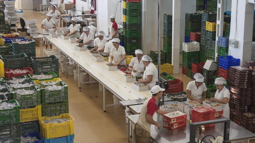 Las trabajadoras copan las profesiones mal remuneradas.