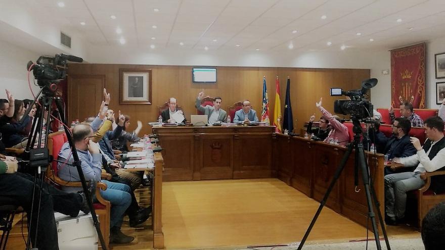 Imagen del pleno de presupuestos de Mislata