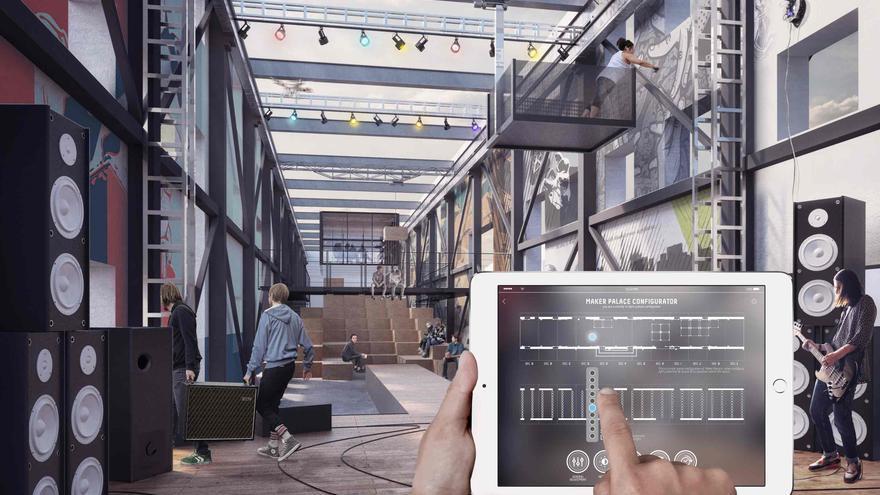 El Palacio Maker diseñado por Ratti está pensado para el trabajo colaborativo