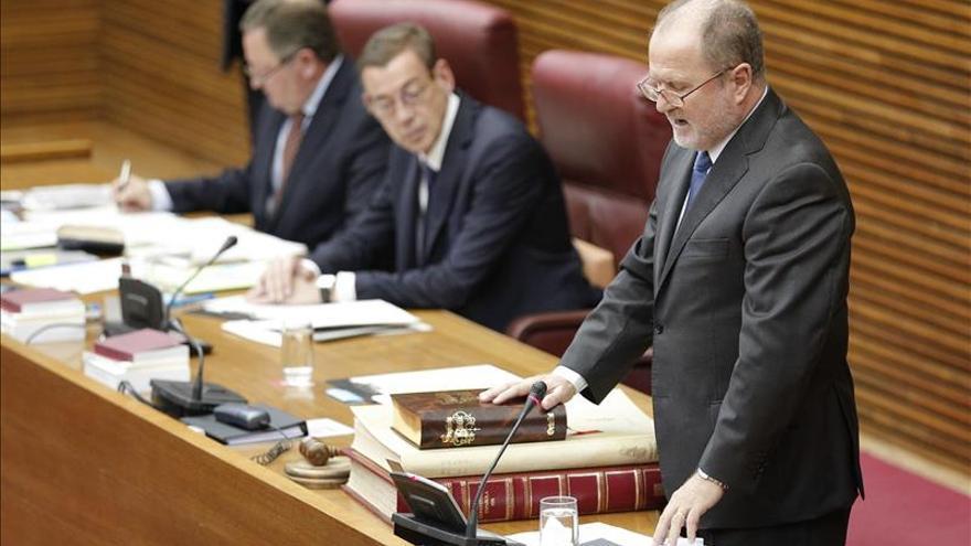 Font de Mora, elegido presidente de Les Corts en sustitución de Juan Cotino