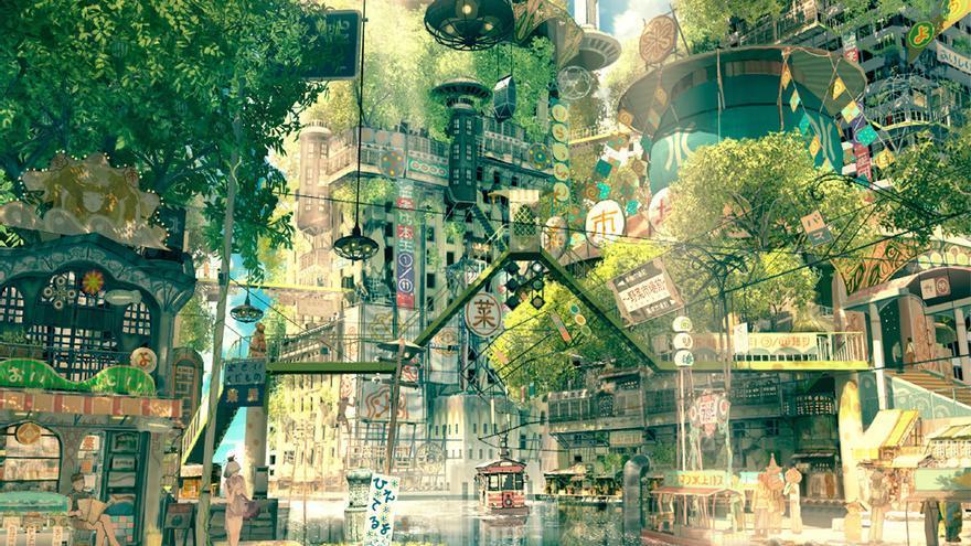 El mundo ecológico y sostenible del 'solarpunk' ha pasado de la literatura a ser todo un movimiento
