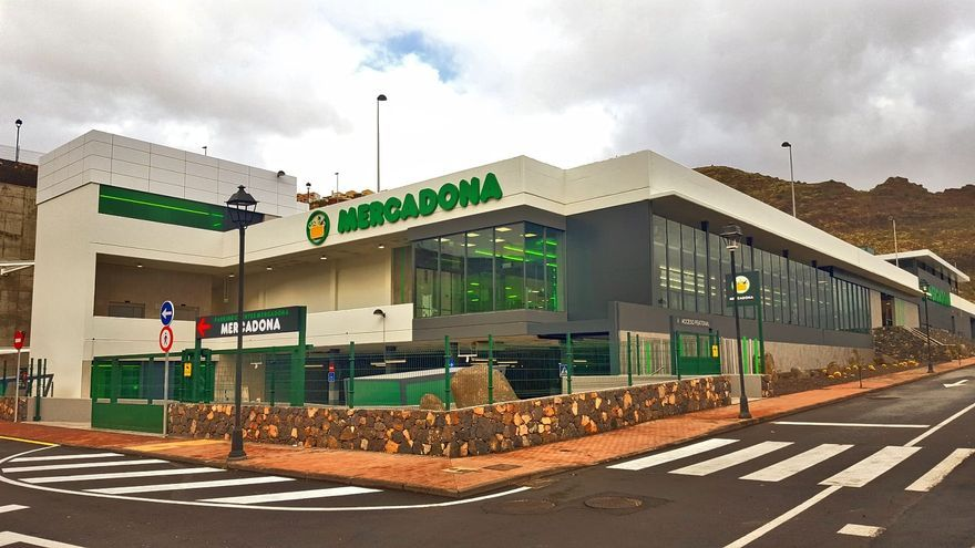 En la imagen, el supermercado de Mercadona en Breña Alta.