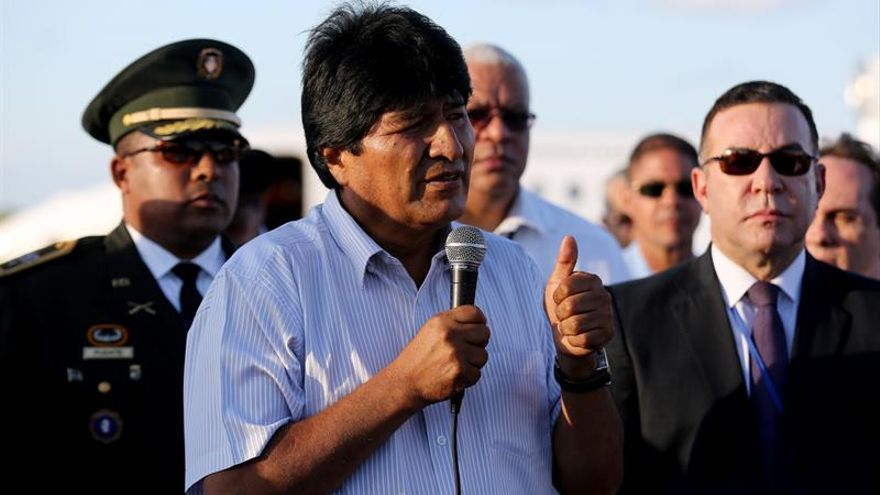 Evo Morales se operará de la garganta en abril en Cuba