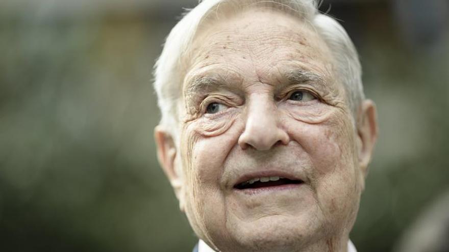 George Soros dona 18.000 millones de dólares a su fundación Open Society