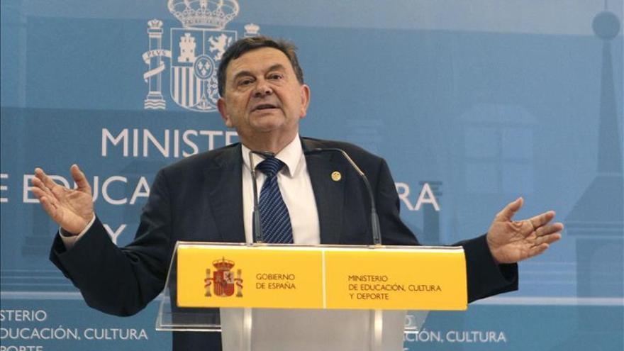 El presidente de la CRUE, Manuel López.