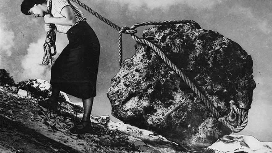 Fotomontaje de Grete Stern, 1949