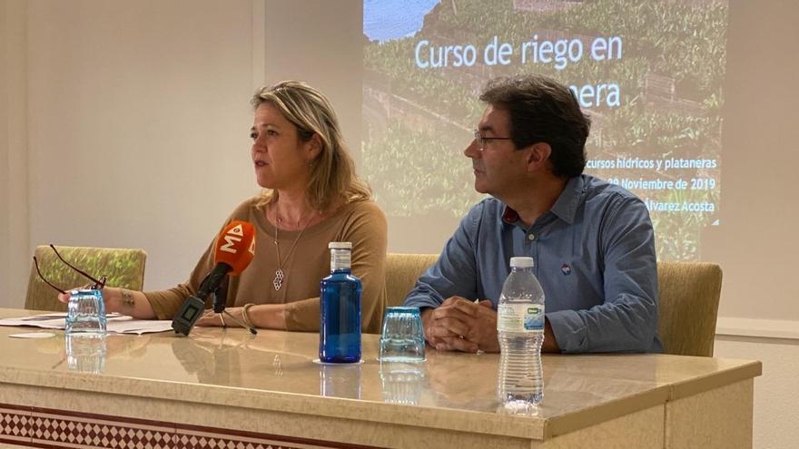 Alicia Vanoostende y José Adrián Hernández.