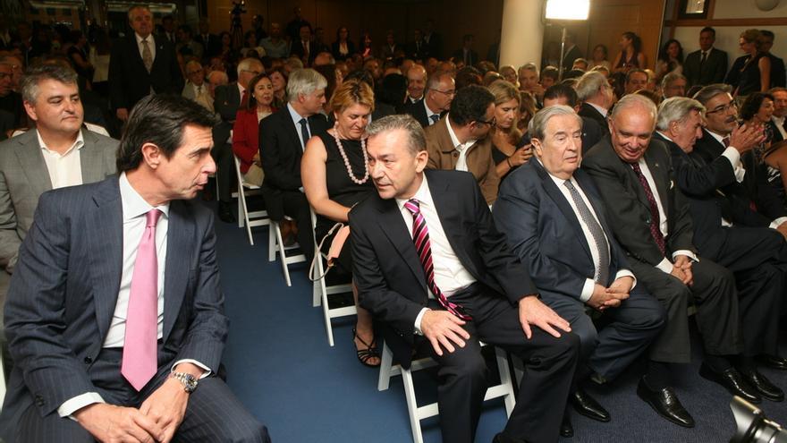 Soria y Rivero en la toma de posesión de Clavijo (ALEJANDRO RAMOS)