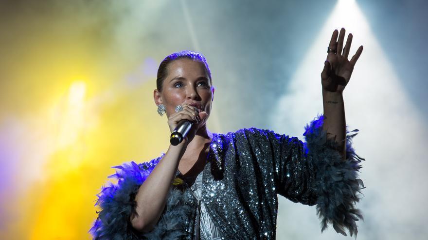 Soraya Arnelas derrochó voz en el Love Festival.