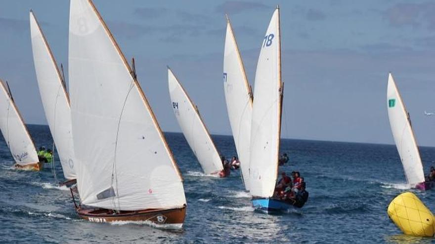 Imagen de archivo de una regata.  Foto: Club de Vela Latina Benahoare de La Palma