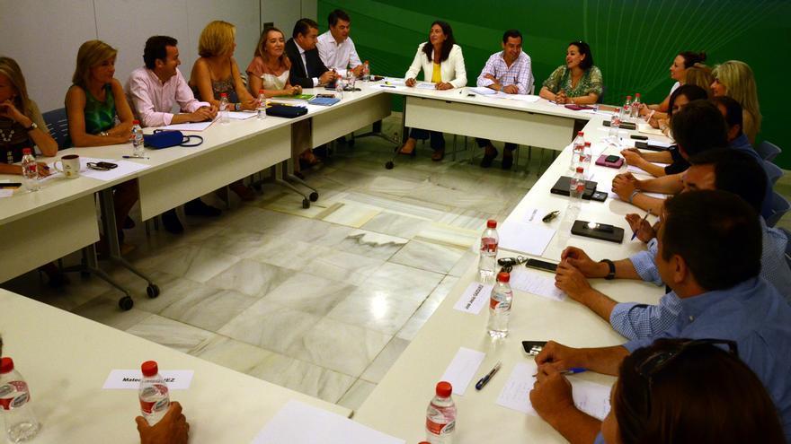 Reunión del Comité de Dirección del PP andaluz.