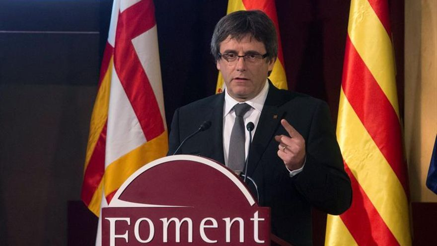 Puigdemont apoyará mañana a Homs en Madrid ante la votación del suplicatorio