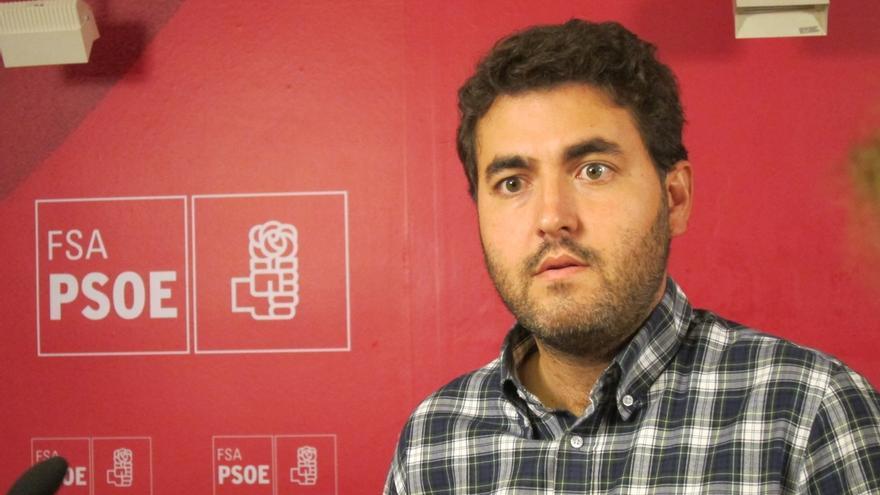 Jonás Fernández (PSOE) denuncia en Europa la condena por coacción a cinco sindicalistas asturianos