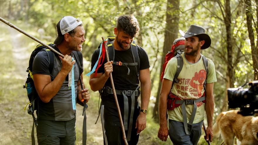 Nacho Vidal y Ricky Merino en 'Entre ovejas'
