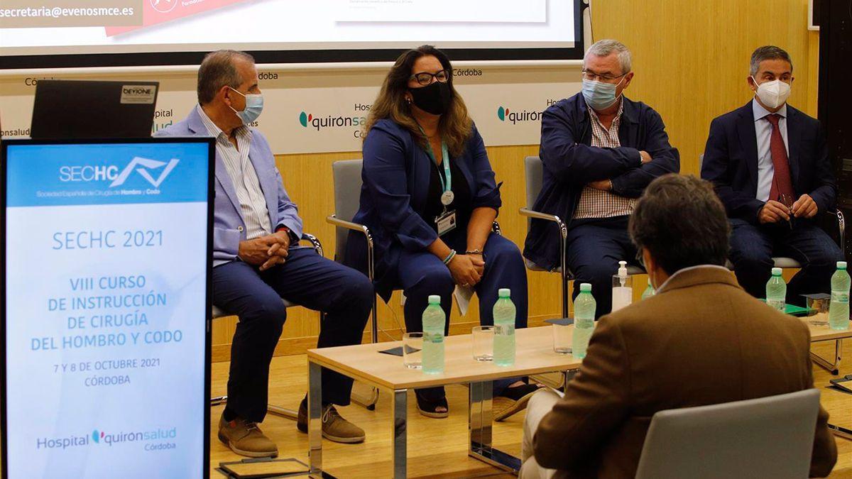 Especialistas en cirugía de hombro y codo en el Hospital Quironsalud de Córdoba