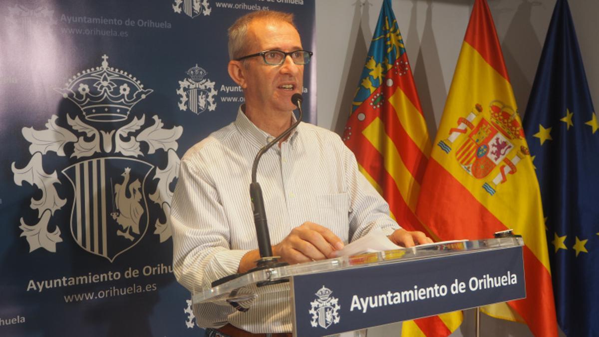 José Galiano, concejal del PP en Orihuela.
