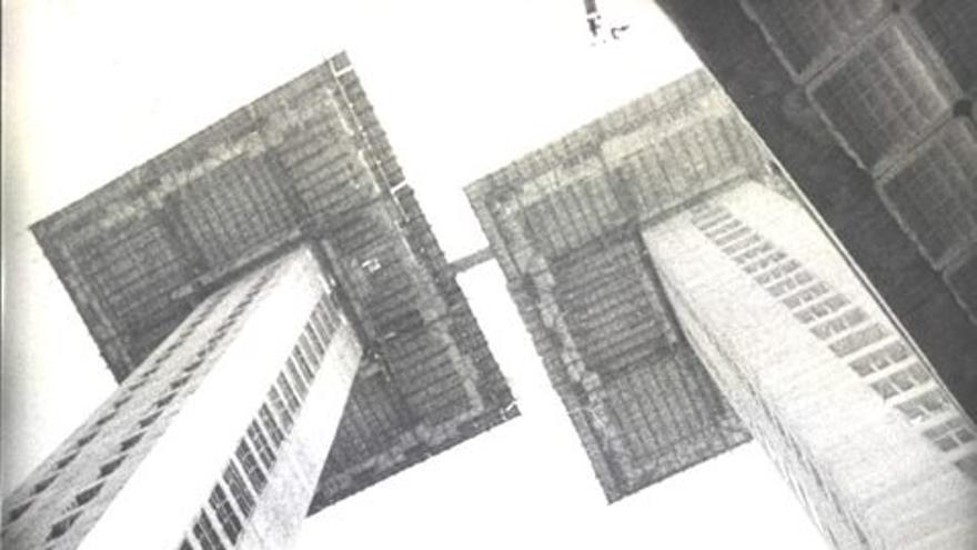 El arquitecto Antonio Lamela en las obras. / Estudio Lamela