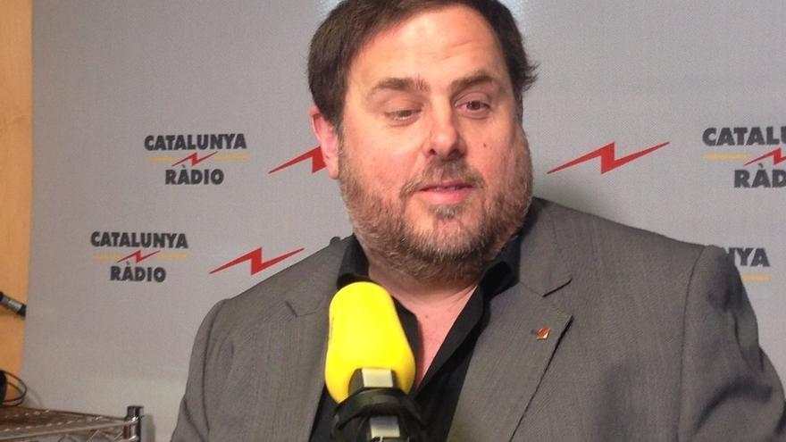 """Junqueras dice que ERC se diferencia del PDC en sus 85 años """"de historia inmaculada"""""""