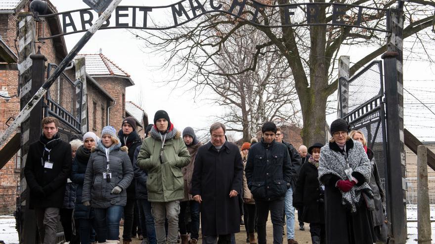 Conmemoración del Día internacional del Holocausto el 27 de enero de 2019.