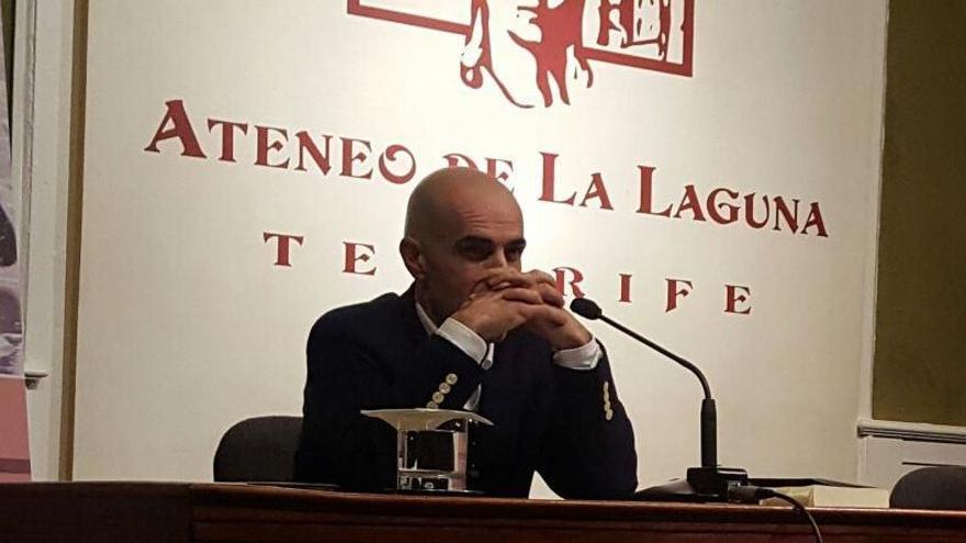El escritor palmero Andrés Expósito.
