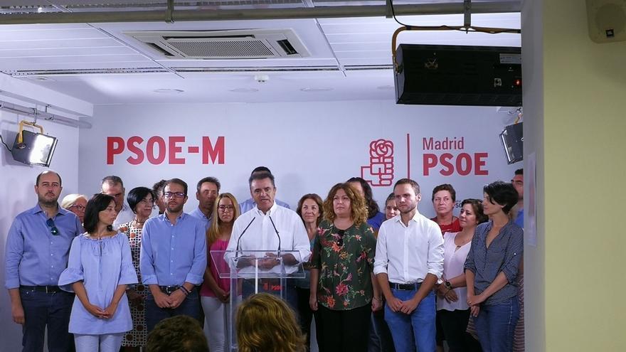 """Franco presenta su candidatura a secretario general del PSOE-M para """"reconquistar"""" Madrid y """"regenerar"""" el partido"""