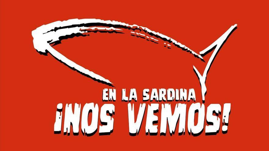 Logotipo oficial del Entierro de la Sardina de San Andrés y Sauces.