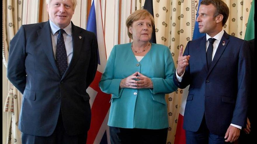 """La UE dibuja ante el G7 sus líneas rojas en el """"brexit"""", Rusia y la Amazonía"""