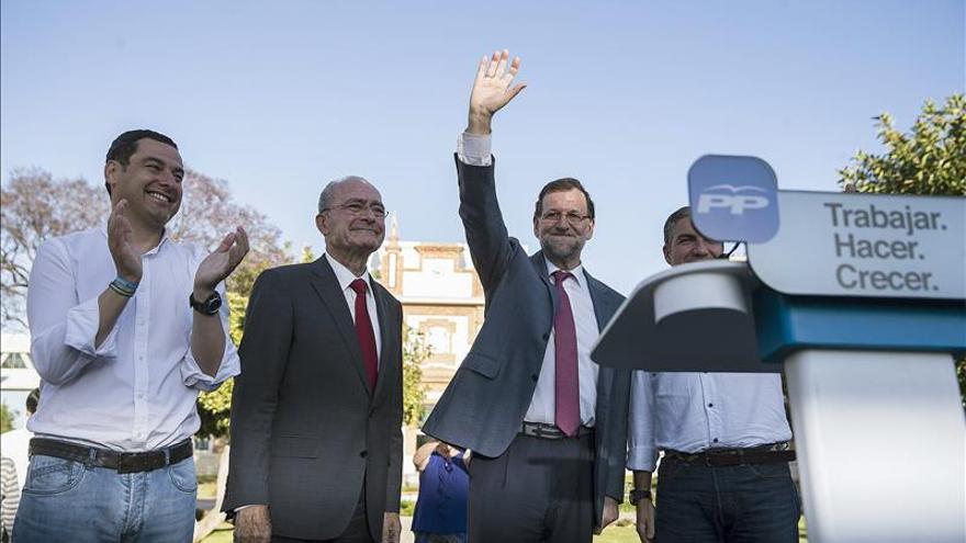 Rajoy asegura ante las encuestas que el PP será la primera fuerza el 24M