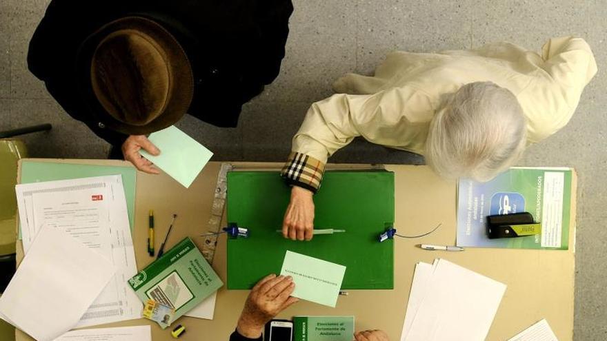 Más de 6,5 millones andaluces están convocados a las urnas en elecciones 2D